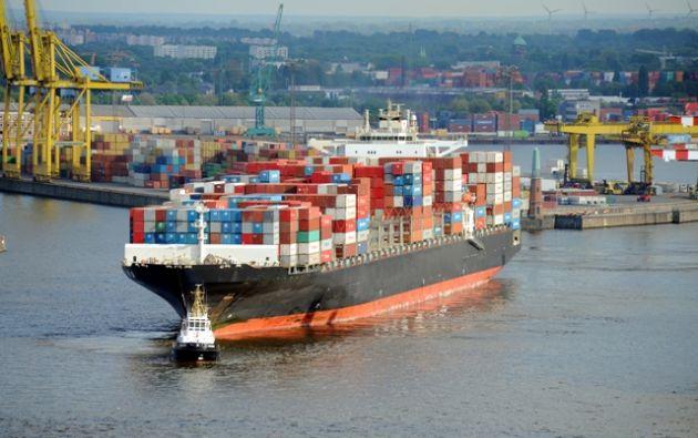 La tendencia actual es utilizar barcos de gran capacidad, los cuales necesitan puertos de aguas profundas. Foto: Fotalia