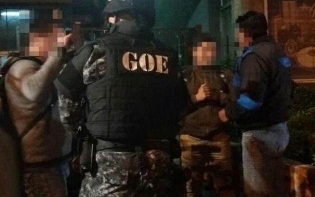 Estos son los primeros arrestos que se producen desde que este tema estallara en diciembre del año pasado. Foto: Twitter Galo Chiriboga (@Galo_Chiriboga)