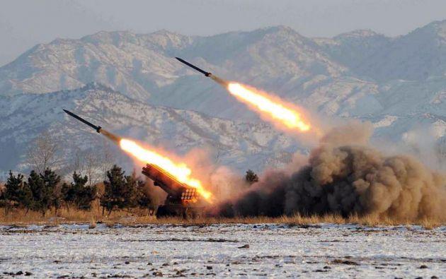 """Corea del Norte advirtió el lunes que estaba dispuesta a efectuar """"en cualquier momento"""" su sexta prueba nuclear. Foto: internet"""
