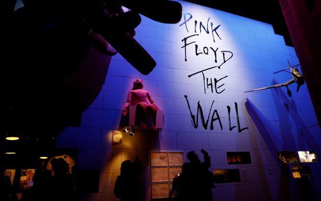 """La recopilación permite al público sumergirse en el """"exclusivo"""" mundo de Pink Floyd.   Foto: Reuters."""
