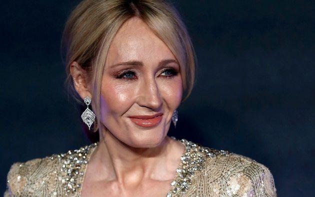 JK Rowling es la autora de la famosa saga de Harry Potter. Foto: Reuters.