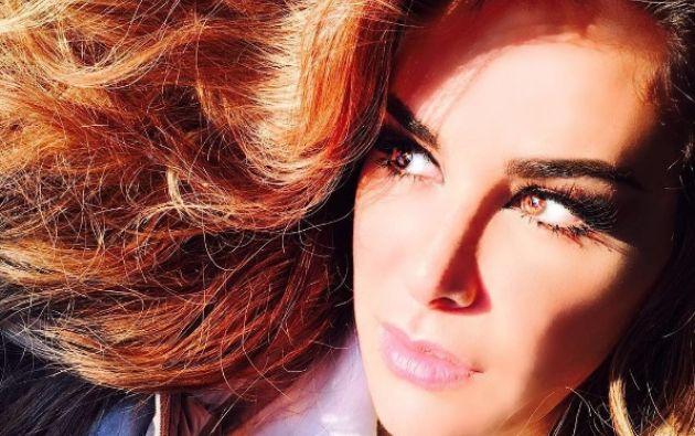 Cuando participó en la telenovela Rebelde, en 2004, la actriz mostró su nueva imagen.  Foto: Instagram Ninel Conde.