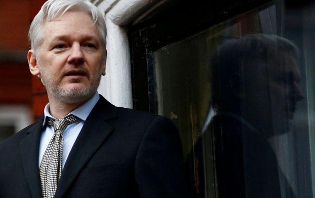 Assange, 45 años, está refugiado en la embajada de Ecuador en Londres desde junio de 2012. | Foto: Archivo Reuters.