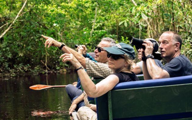 Napo Wildlife Center ofrece a los huéspedes un recorrido por el Río Napo. (Foto: Cortesía Napo Wildlife Center).