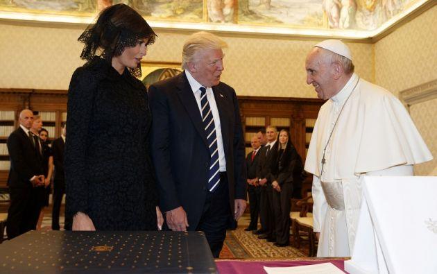 Tras pasar 19 horas en Roma, Trump ha partido hacia Bruselas para participar este jueves en la cumbre de la OTAN. | Foto: Reuters.