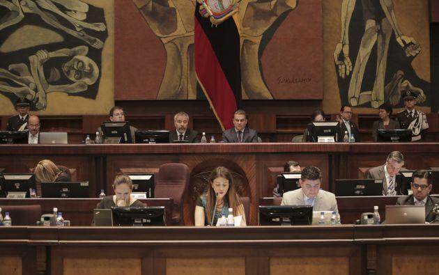 El presidente de la Asamblea, José Serrano, dijo que pedirá al Fiscal Baca información sobre su viaje a Brasil en torno al caso Odebrecht. Foto: Flickr Asamblea