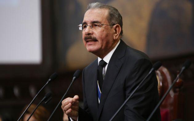 Medina inició su segundo mandato en agosto del año pasado tras lograr la reelección. | Foto: Tomada de Hoy.com.do