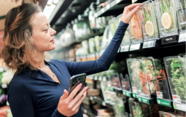 En las perchas de los supermercados del país ya es común encontrar alimentos que no necesitan cocción. Foto: Fotolia