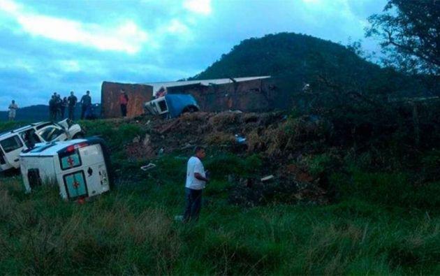 La Secretaría de Seguridad Pública de Espírito Santo había informado previamente que eran al menos 15 los fallecidos. | Foto tomada de: Teletica