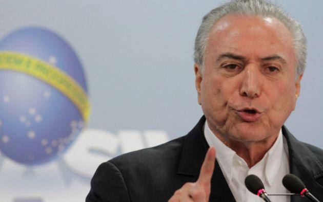 El Fiscal Janot acusa a Temer de violar los derechos de Estado en Brasil. Foto: Tomado de La República