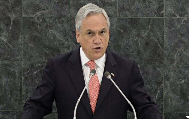 Sebastián Piñera. Foto: Reuters