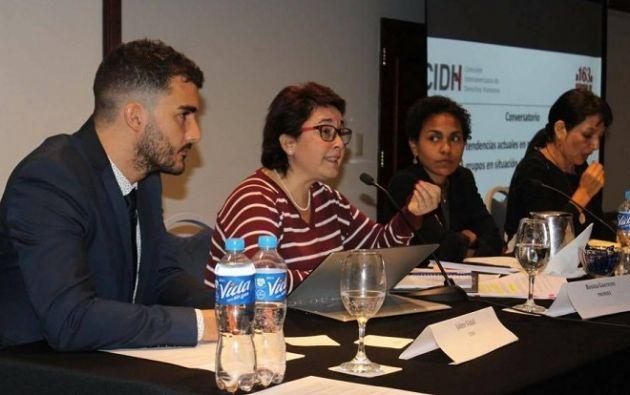 La CIDH analizará denuncias de violencia y hostigamiento contra personas defensoras de derechos humanos en Ecuador.| Foto: Twitter CIDH