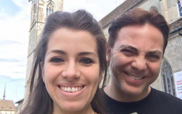 El matrimonio con la violinista Carol era el tercero del cantante, el primero fue con Gabriela Bo y después con Valeria Liberman. Foto: Instagram C. Castro