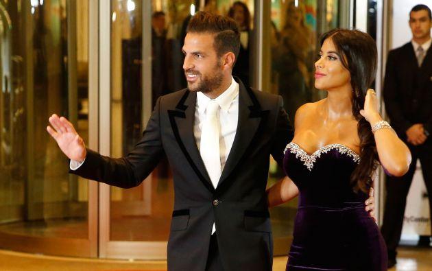ARGENTINA.- La libanesa Daniella Semaan es la esposa del futbolista español Cesc Fábregas y fue una de las sensaciones en la boda del año. Foto: AFP