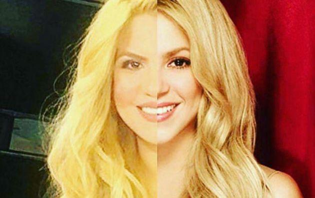 Rebecca Maiellano no sólo imita su físico, también ha trabajado la voz y ha estudiado las coreografías y el vestuario de Shakira. Foto: Twitter Shakibecca