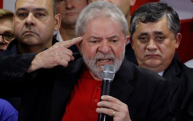 Lula fue condenado este miércoles en primera instancia a nueve años y seis meses de prisión por el juez federal Sergio Moro. Foto: Reuters