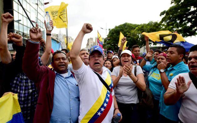 El 16 de julio los venezolanos están llamados a expresar su apoyo o rechazo a la Constituyente propuesta por Maduro. Foto: Archivo AFP