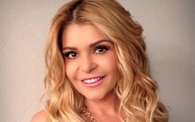 La actriz decidió usar un traje de baño entero, como usó Thalía en sus recientes vacaciones familiares. Foto: Internet