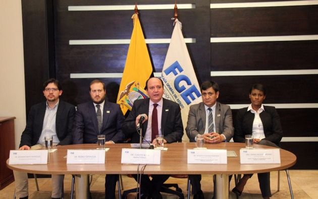 El Fiscal Baca estará hoy en la posesión de los nuevos agentes fiscales, en Quito. Foto: Archivo