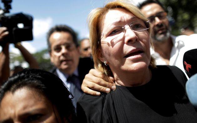 """""""La remoción de Luisa Ortega de su puesto en el Ministerio Público, han debilitado más las perspectivas de una vuelta pacífica al orden democrático"""", dice el comunicado de la UE. Foto: Reuters"""