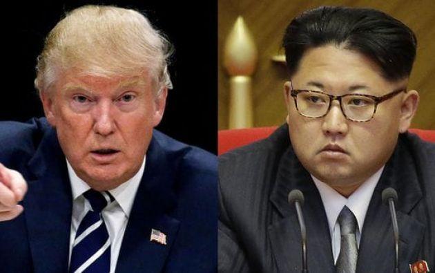 """El presidente estadounidense alertó a Kim Jong-un que está dispuesto a actuar si no """"cambia de rumbo"""". Foto: Archivo"""