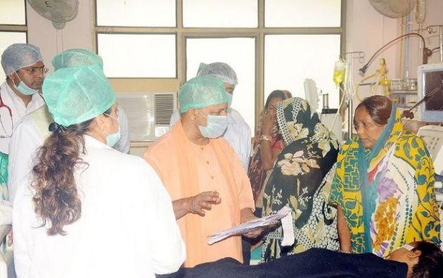 Singh suspendió al director del hospital hasta que se conozca el resultado de la investigación. Foto: Internet