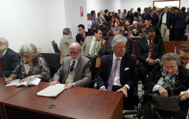 Según la CNA, en esos archivos se evidencia el manejo de la Justicia ecuatoriana. Foto: archivo