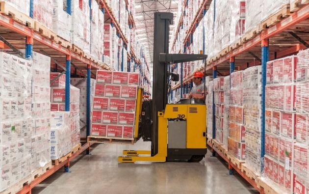 La recuperación del comercio exterior ecuatoriano ha permitido la reactivación de la actividad logística. Foto: cortesía Grupo VIR Cía Ltda