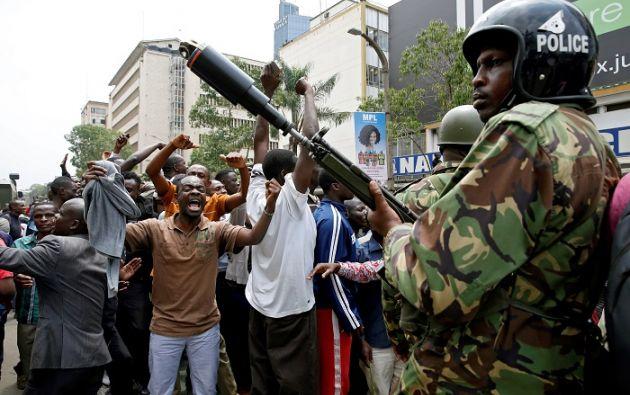 """Las elecciones presidenciales """"no se llevaron a cabo conforme a la Constitución"""" y el resultado es """"inválido y nulo"""", afirmó Maraga. Foto: Reuters"""