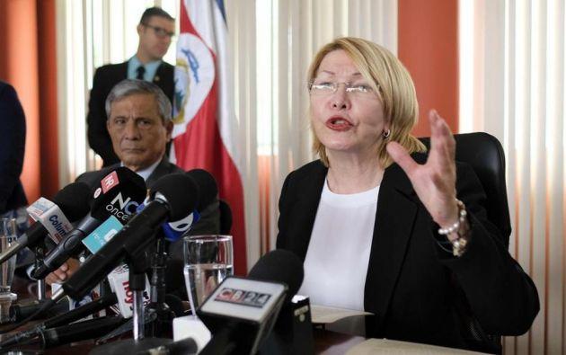 """Denunció que la """"justicia en Venezuela está negada porque se perdió el estado de derecho"""". Foto: El Nuevo Diario"""