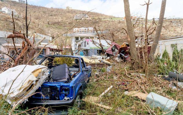 El ciclón dejó la huella de su destructivo pasaje por el Caribe la semana pasada. Foto: Reuters