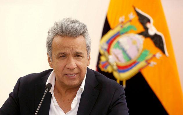 """""""Listos para enviar ayuda a los hermanos cubanos, esperamos nos indiquen sus necesidades"""", dijo Moreno. Foto: Flikcr Presidencia"""