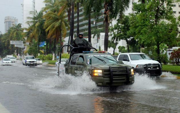 Hasta el momento han sido habilitados 25 refugios temporales en las regiones Costa Grande, Acapulco y Costa Chica, de los cuales diez se encuentran en operación. Foto: Reuters