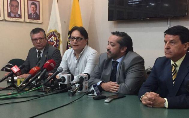 La denuncia sobre Petrochina será presentada al Fiscal Carlos Baca Mancheno, por perjuicio al Estado y mal uso de fondos públicos. Foto: Cortesía