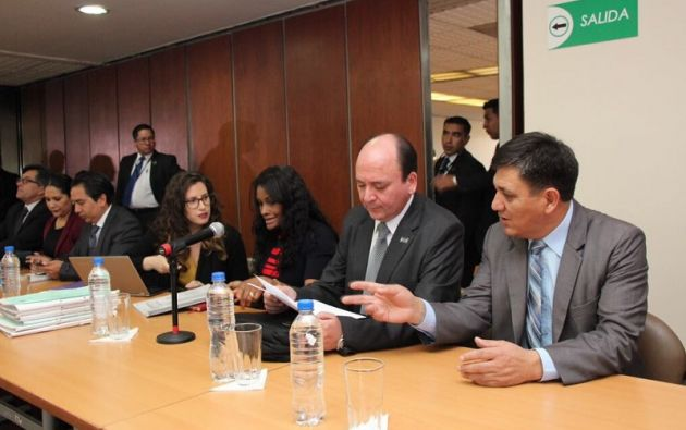 El delator entregó grabaciones de audio y video con el excontralor Carlos Pólit y con Ricardo Rivera. Foto: Fiscalía