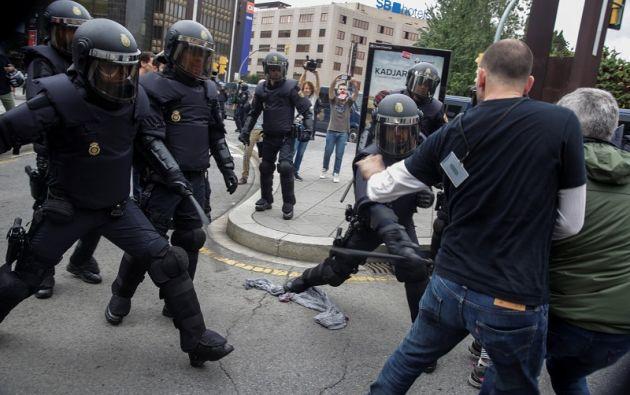 """El Alto Comisionado llama al diálogo y dice que """"las intervenciones policiales deben ser siempre proporcionadas y (revelarse) necesarias"""". Foto: Reuters"""