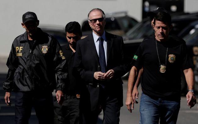 Nuzman, que ya había sido obligado a declarar el pasado 5 de septiembre por el caso, fue detenido a primera hora de la mañana en su vivienda en Leblon. Foto: Reuters