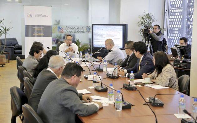 El análisis es sobre reformas a la Ley de Educación Superior. Foto: Asamblea