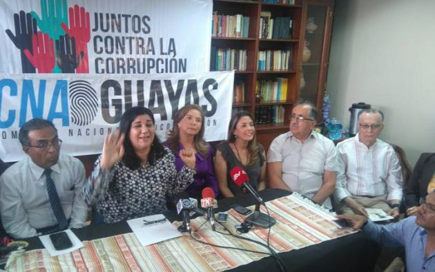 CNA espera comisión internacional ofrecida por Moreno para investigar corrupción. Foto: Twitter Caravana