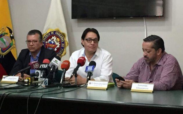 Villavicencio asegura que, con libre movilidad, presentará 20 nuevas denuncias de presuntas irregularidades cometidas en el Gobierno anterior. Foto: Jacqueline Rodas / Ecuavisa