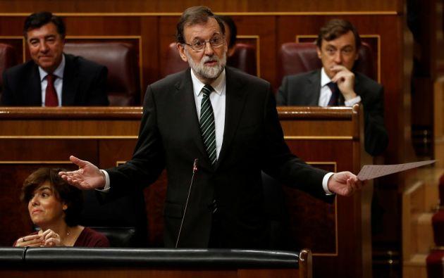 """Un Consejo de Ministros extraordinario presidido por Mariano Rajoy aprobará el sábado medidas para """"proteger el interés general de los españoles"""". Foto: Reuters"""