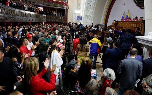 La oposición considera ilegítima y fraudulenta a la Constituyente, que también es desconocida por varios países. Foto: Reuters