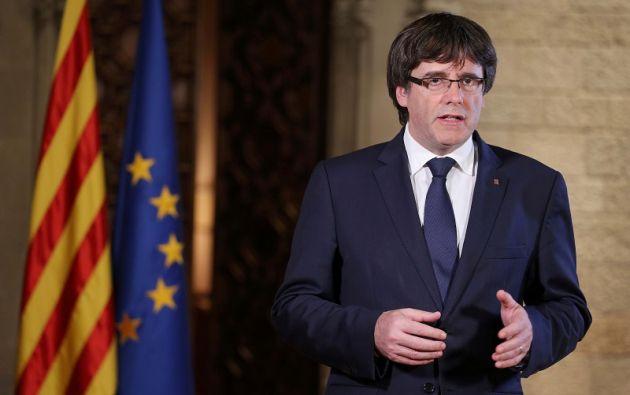 El Senado ofreció este martes a Puigdemont debatir con el Gobierno antes de que la Cámara Alta ratificara esas medidas. Foto: Reuters