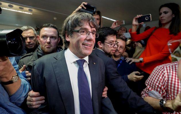 """""""No va a Madrid, he propuesto que lo interroguen aquí en Bélgica"""", dijo a la televisión catalana el abogado Paul Bekaert. Foto: Reuters"""