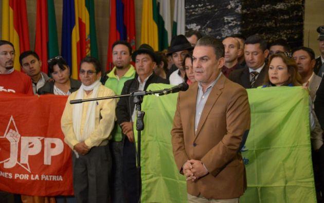 """Según Serrano, esta resolución """"no ha pasado por el debido proceso"""". """"No se le ha permitido (a Moreno) el derecho de defensa"""". Foto: Asamblea"""