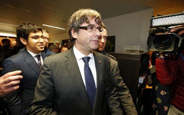 El fiscal pide que las órdenes se dirijan a las autoridades belgas al constar que han viajado a ese país. Foto: AFP