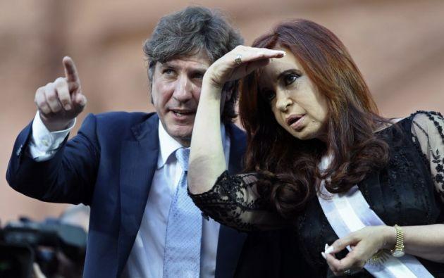 El juez federal Ariel Lijo ordenó la detención de Boudou, 54 años, quien fue vicepresidente del segundo gobierno de Kirchner, entre 2011 y 2015. Foto: AFP