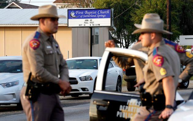 """Según el funcionario, el ataque """"no tuvo una motivación racial, y tampoco estuvo relacionado a creencias religiosas. Foto: Reuters"""