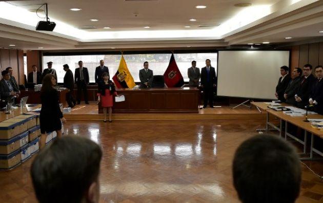 Jurado deberá pronunciarse además respecto al dictamen abstentivo que la Fiscalía emitió a favor de 5 personas. Foto: AFP