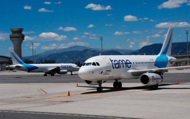 Actualmente TAME EP tiene 50 vuelos en promedio al día, y según los directivos se priorizarán las rutas domésticas de mayor demanda. Foto: archivo